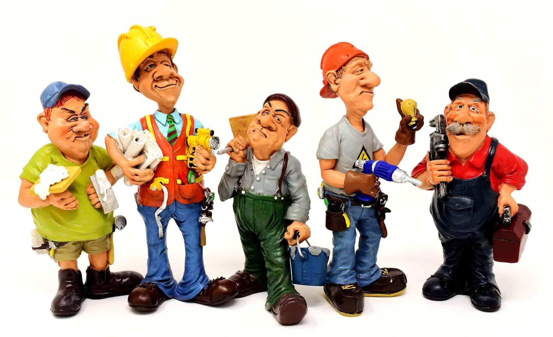 Handwerker und Industrie