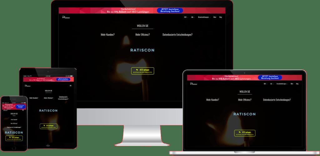 Ratiscon Webagentur, Internetagentur, Digitalagentur